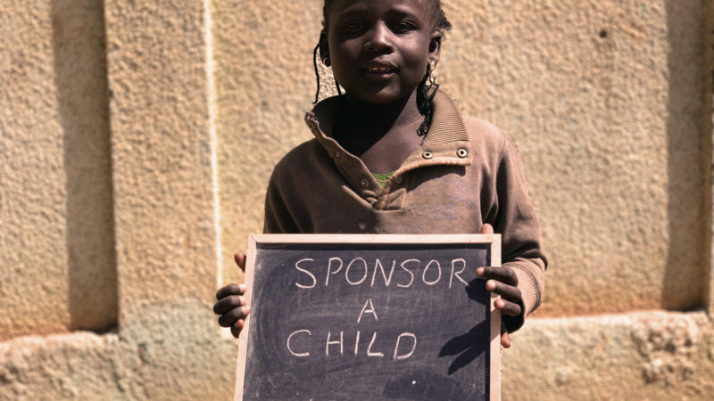 Sponsor Child Girl Board