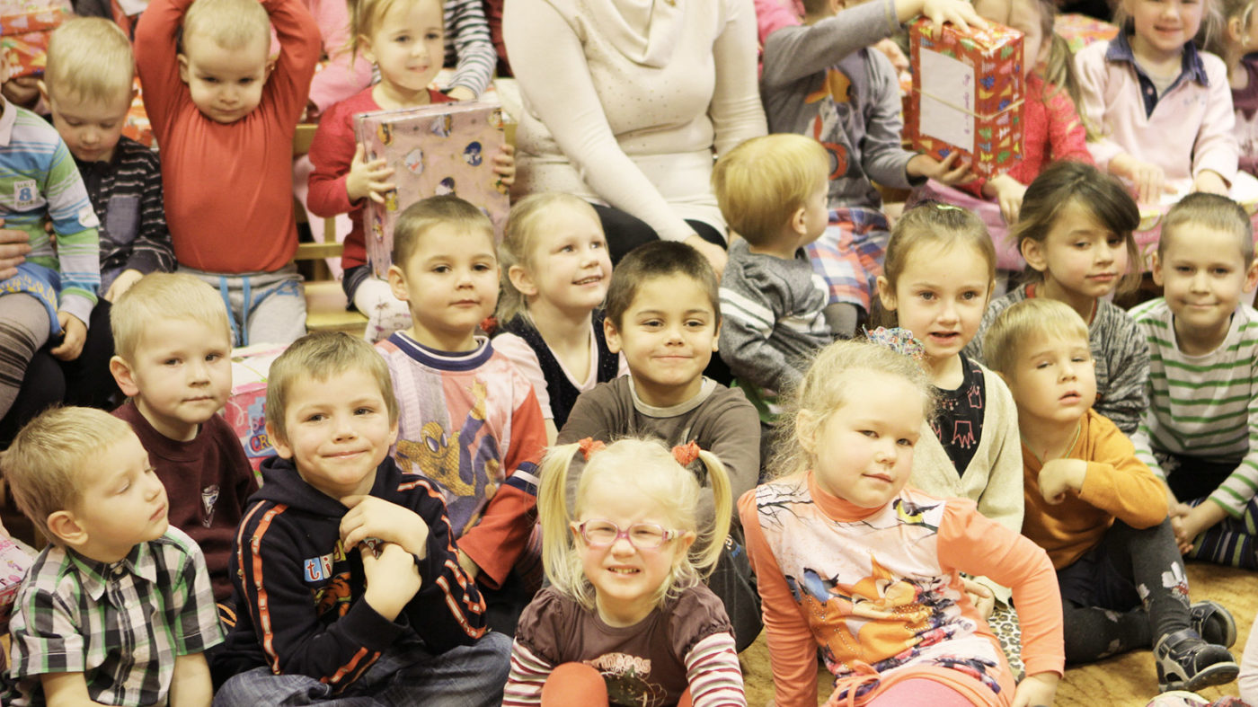 Latvia Shoebox Kids
