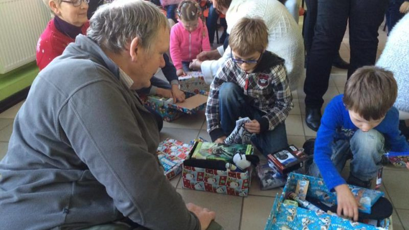 Shoeboxes Arrive In Latvia
