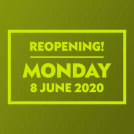 Shops Reopening 8 June