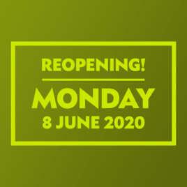 Shops Reopening 8 June