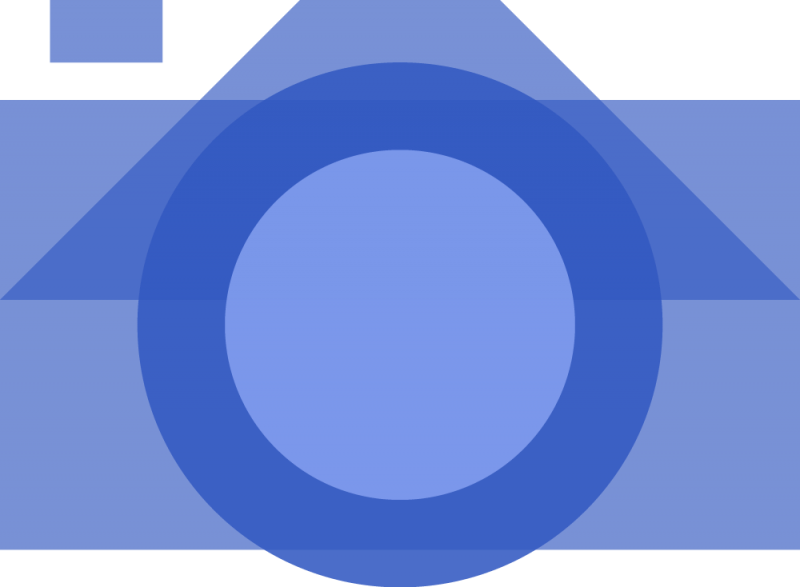 An illustration of a camera.