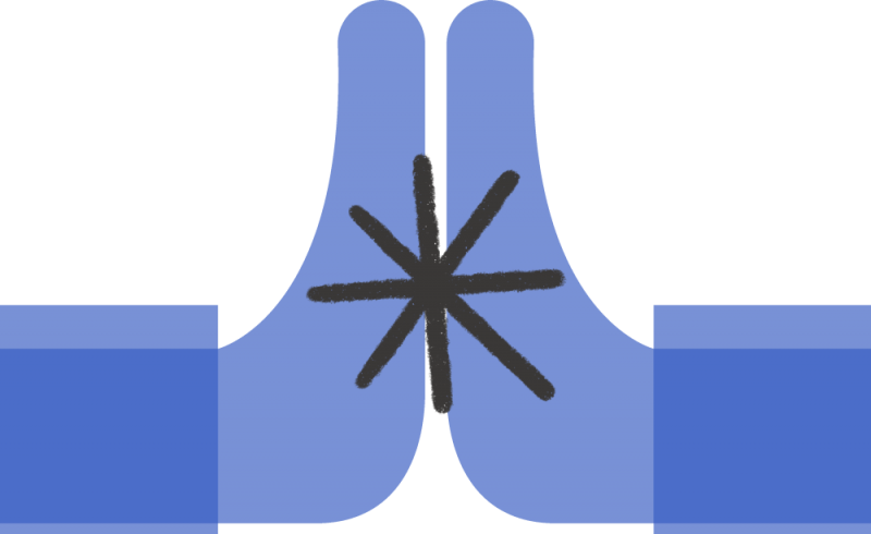 In illustration depicting prayer