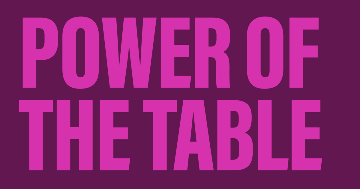 Power of the Table
