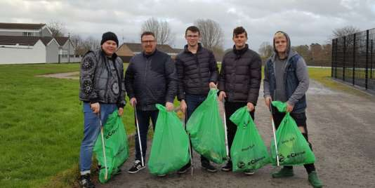 Clean streets in Ardowen