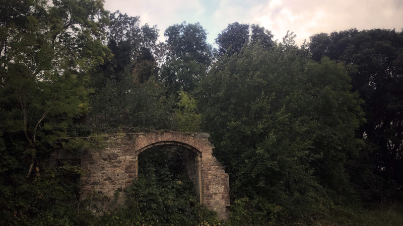 Castle Ruins Archway