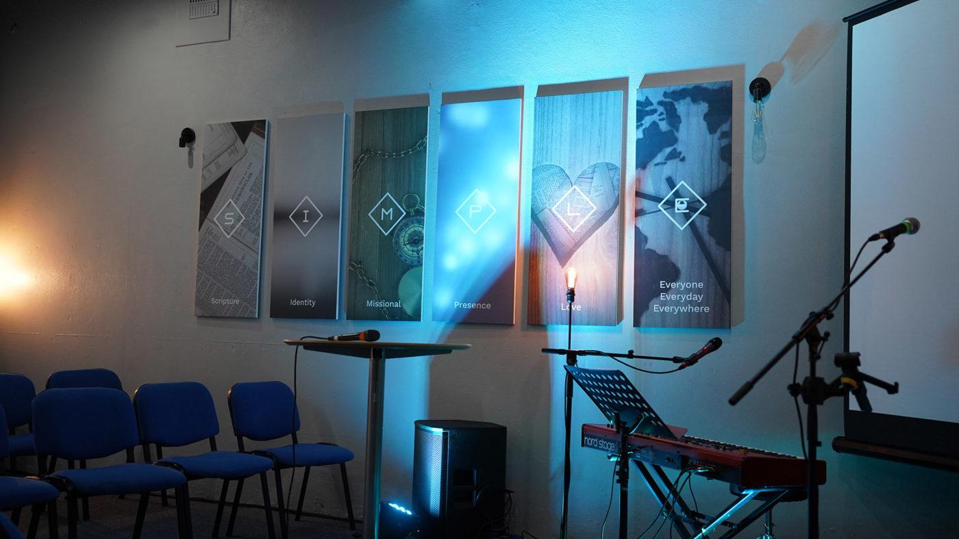 Auditorium lighting small
