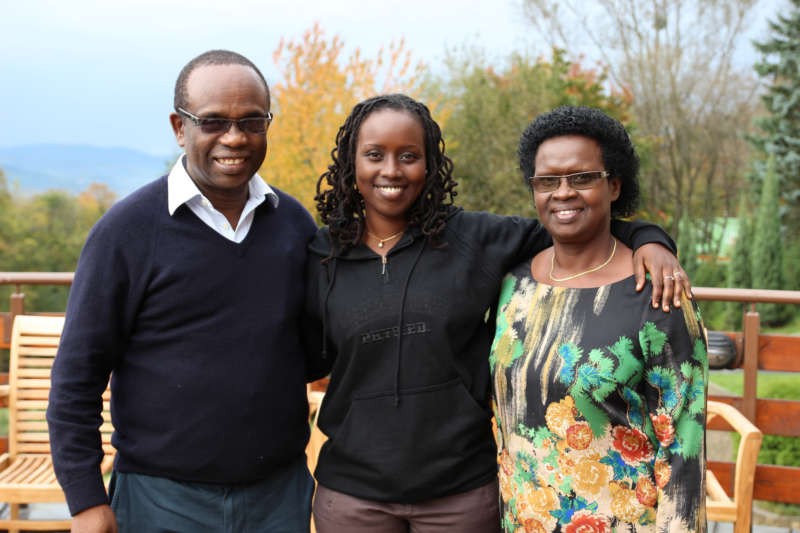 Jean Gakwandi and Family