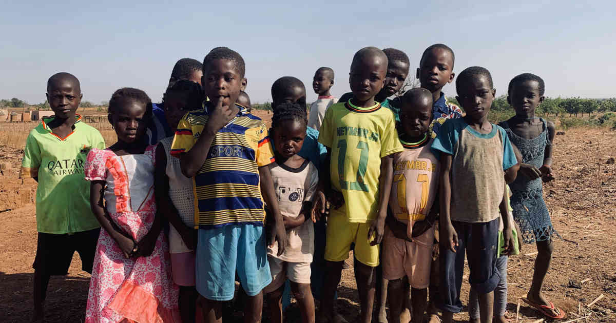 Burkina Faso Children's Camp