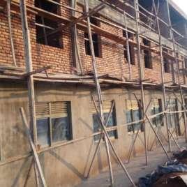 Rwanda Hospital Scaffolding