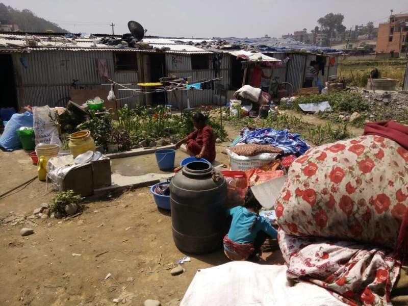 Nepal Shelter Makeshift
