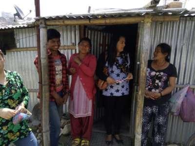 Nepal Shelter Family