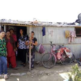 Upgrades to Nepal shelters