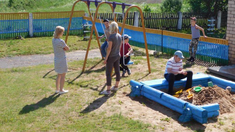 Belarus Kids Playing
