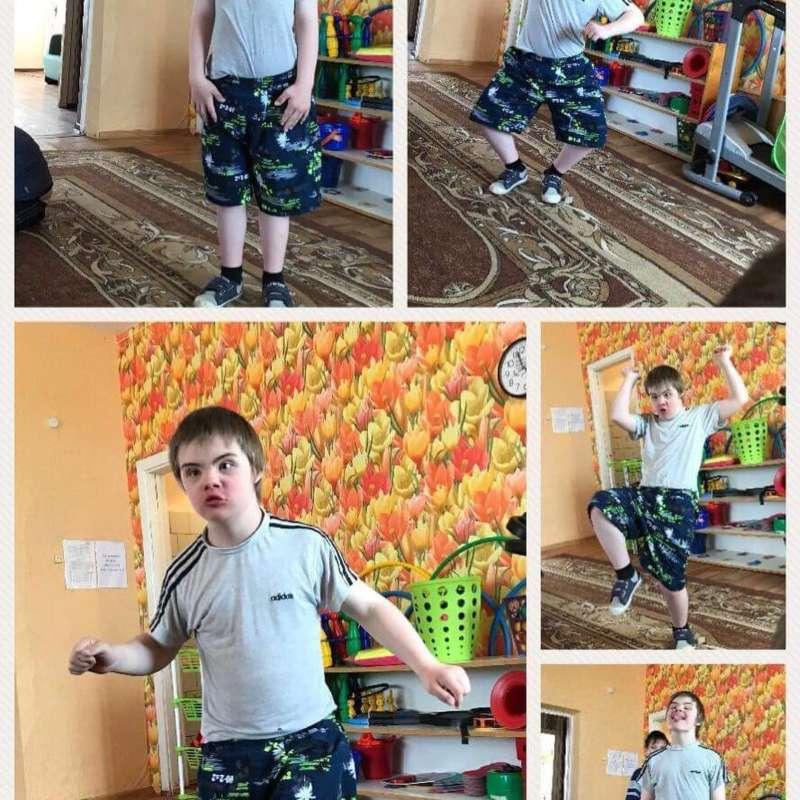 Boy Dancing Montage