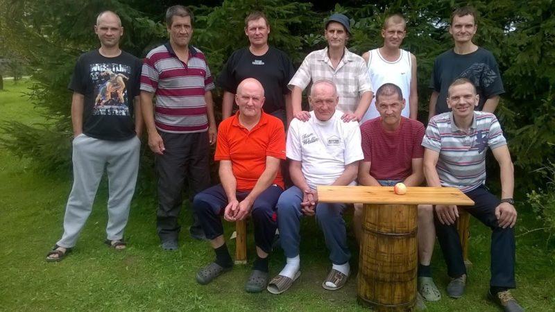 Gena With Latvian Men
