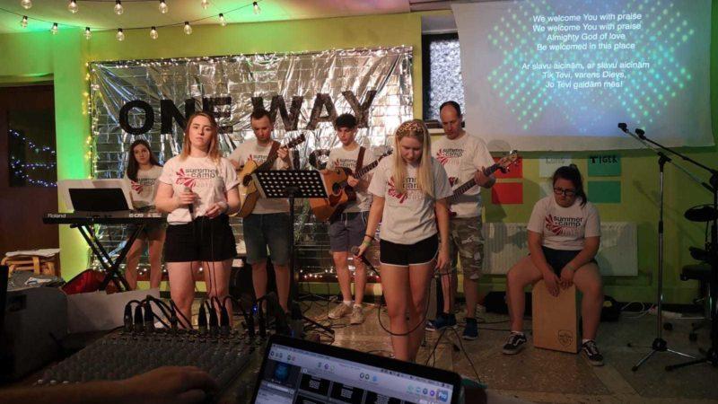 Latvia camp musicians 1