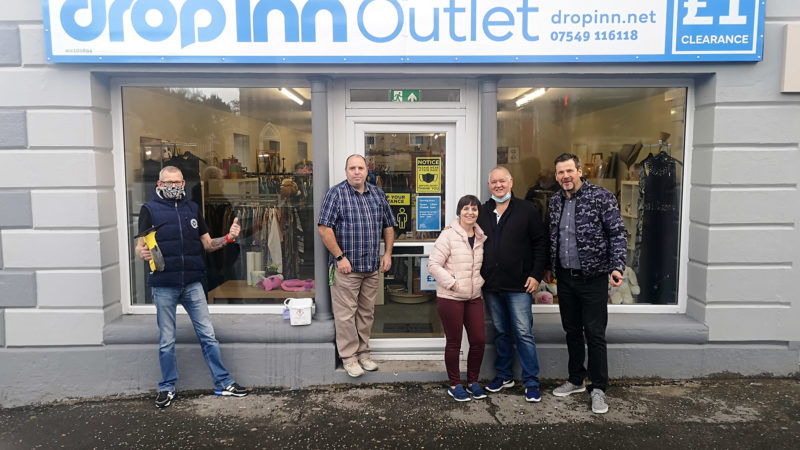 Aughnacloy outlet opening