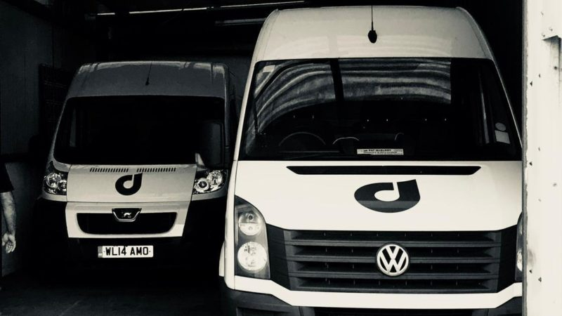Drop inn vans